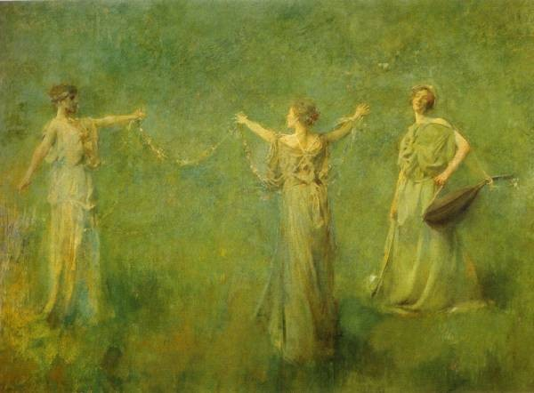 ThomasDewing TheGarland 1899Large
